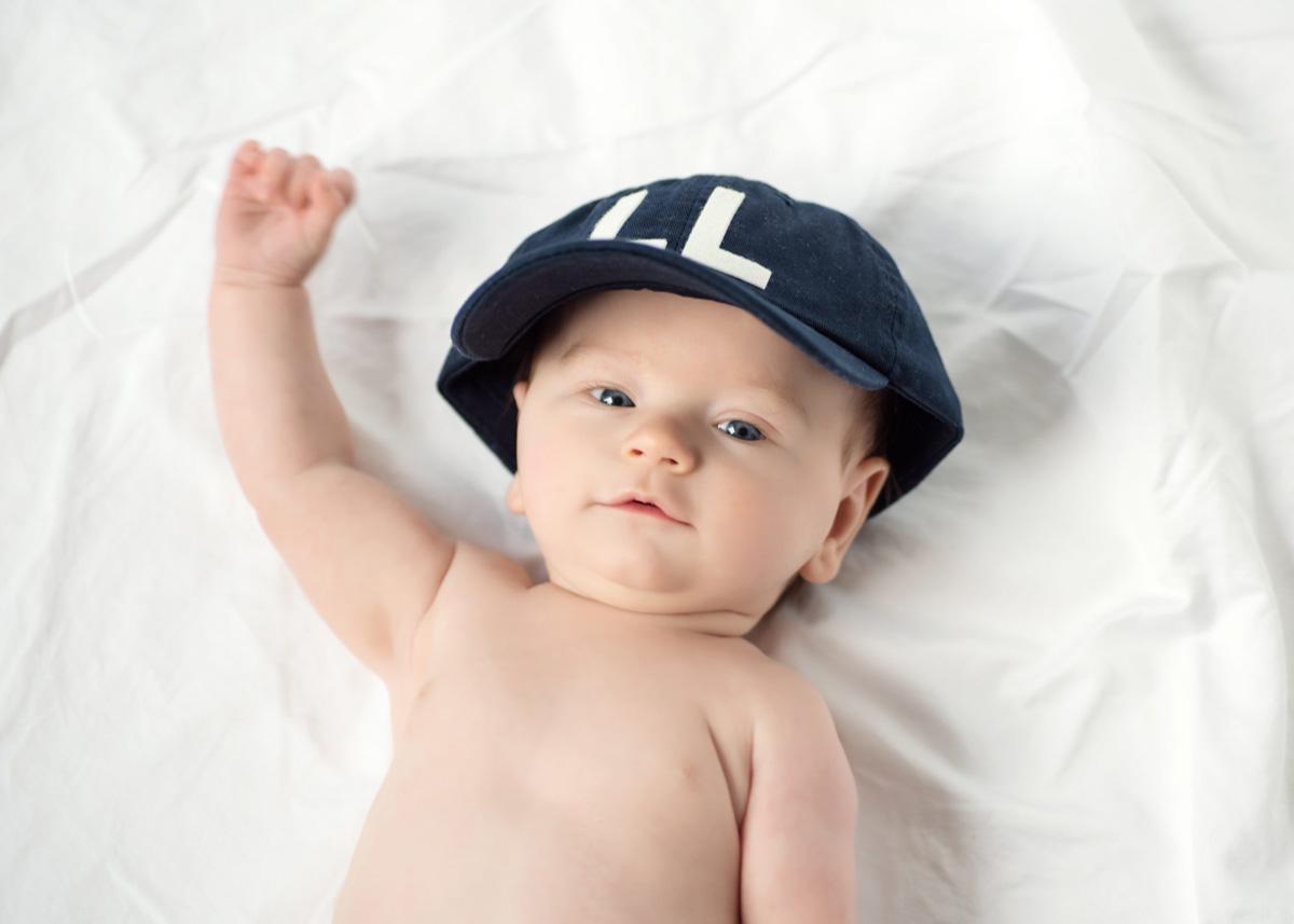 Newborn photos: Activist Baby