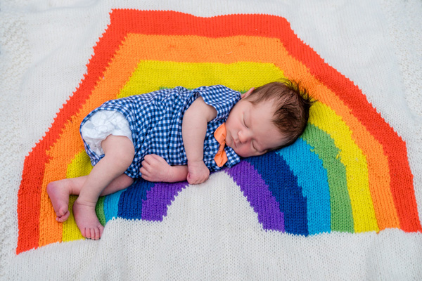 Rainbow Birth Story: Elliot Miguel