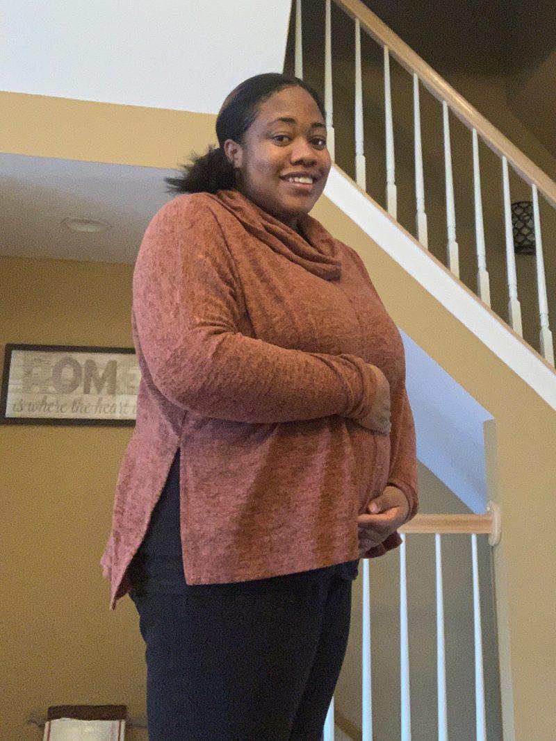 Jasmine's 12-week bump: Choosing to hold on to faith and hope