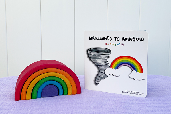 Whilrwinds to Rainbow children's book