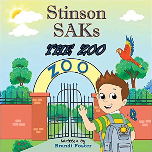 Stinson SAKs The Zoo book - simple acts of kindness in memory