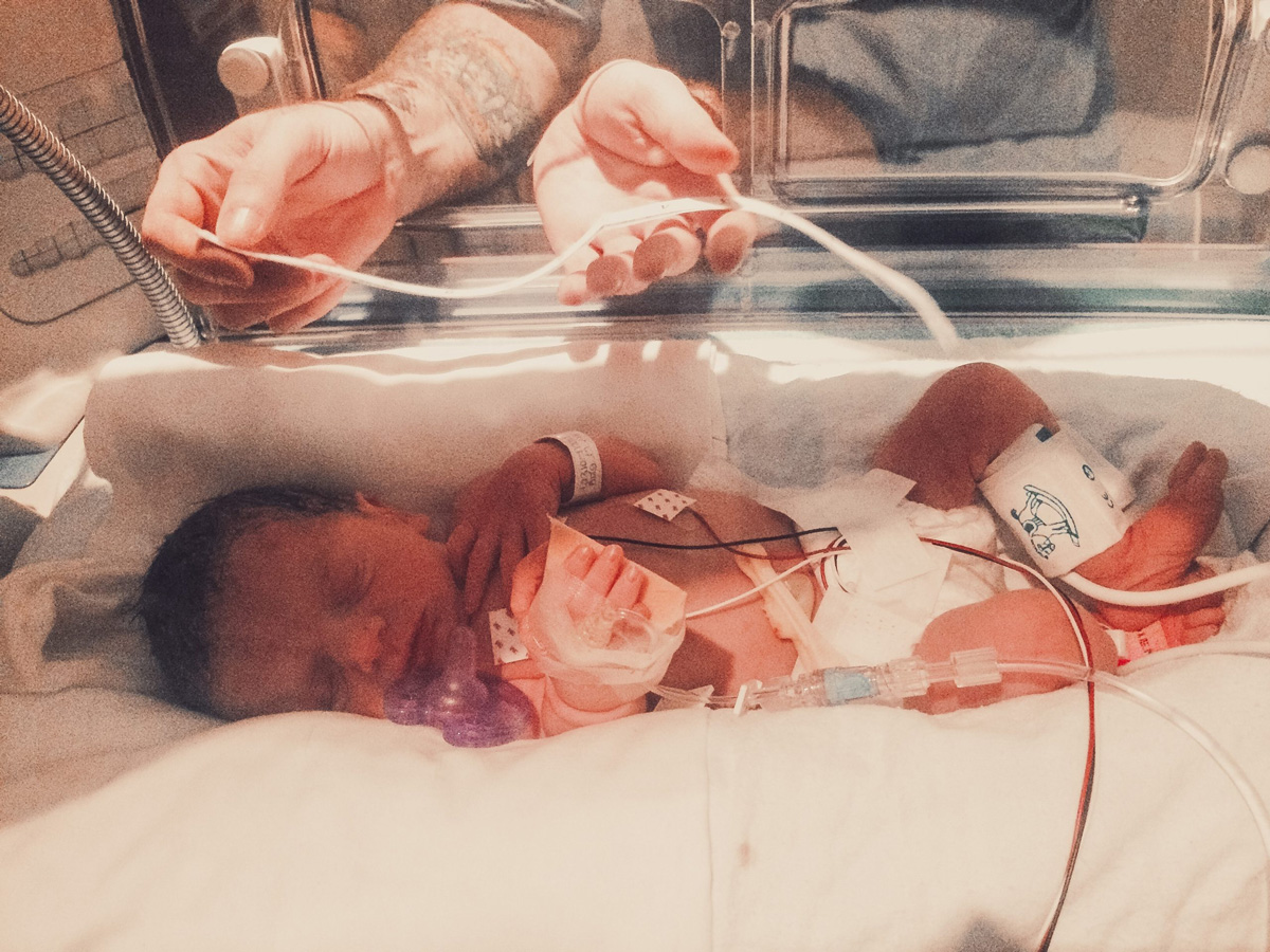 Madeline in the NICU