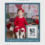 toddler with brother's picture - Mary's 33-week bump day blog: Having Another Boy After Losing One