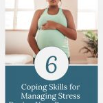 pregnant woman meditating - Coping Skills for Managing Stress During Your Pregnancy After a Loss