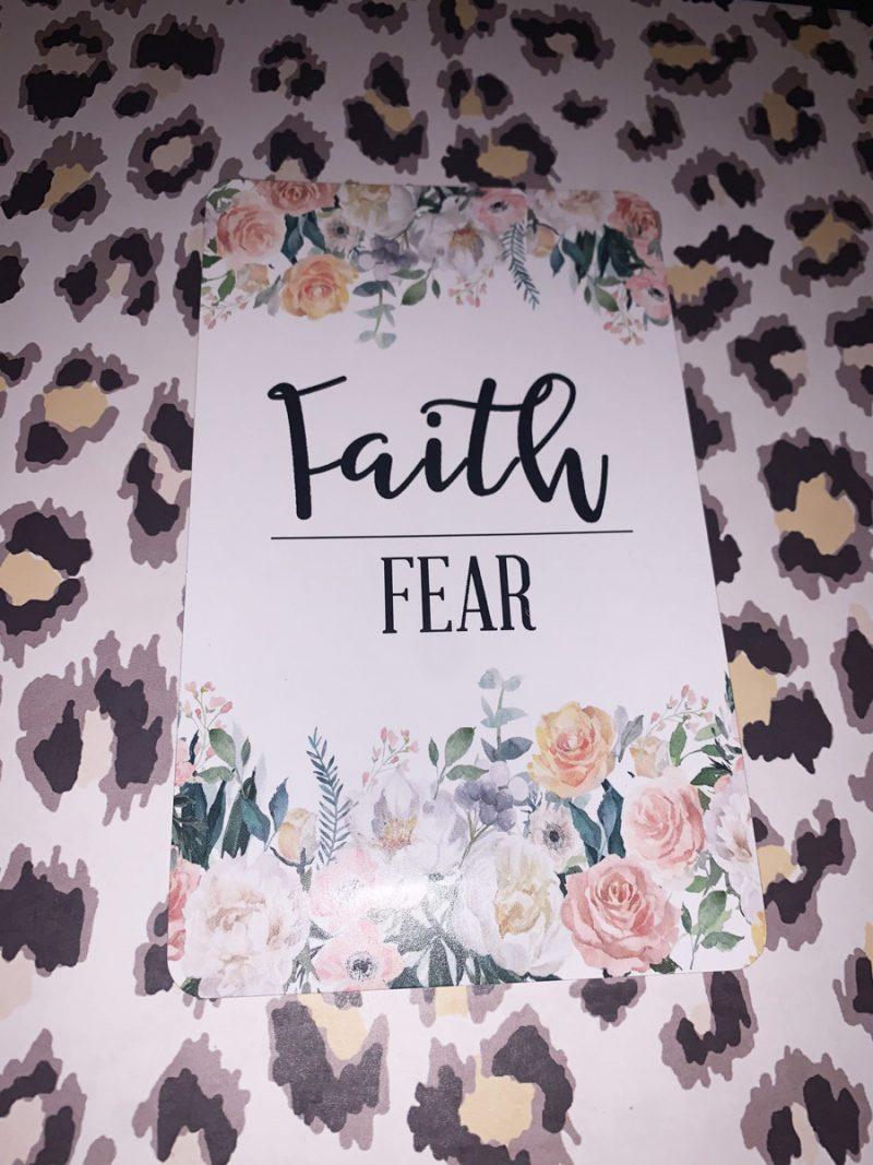 """""""Faith over Fear"""" - Jasmine's 18-week bump day blog"""