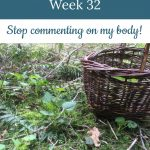 nettle harvesting - Libby's 32-week bump day blog: Stop commenting on my body!