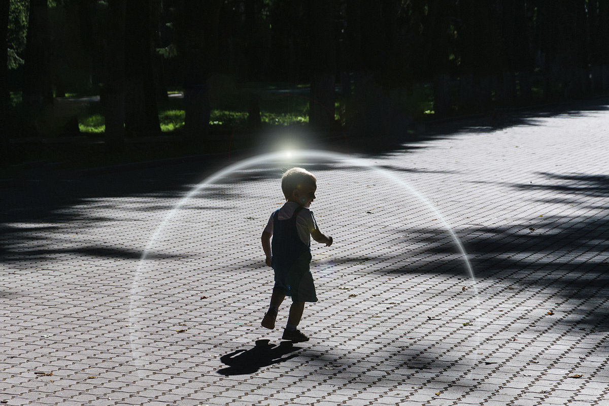 child in a bubble - Parenting After Loss: Building a Protective Bubble