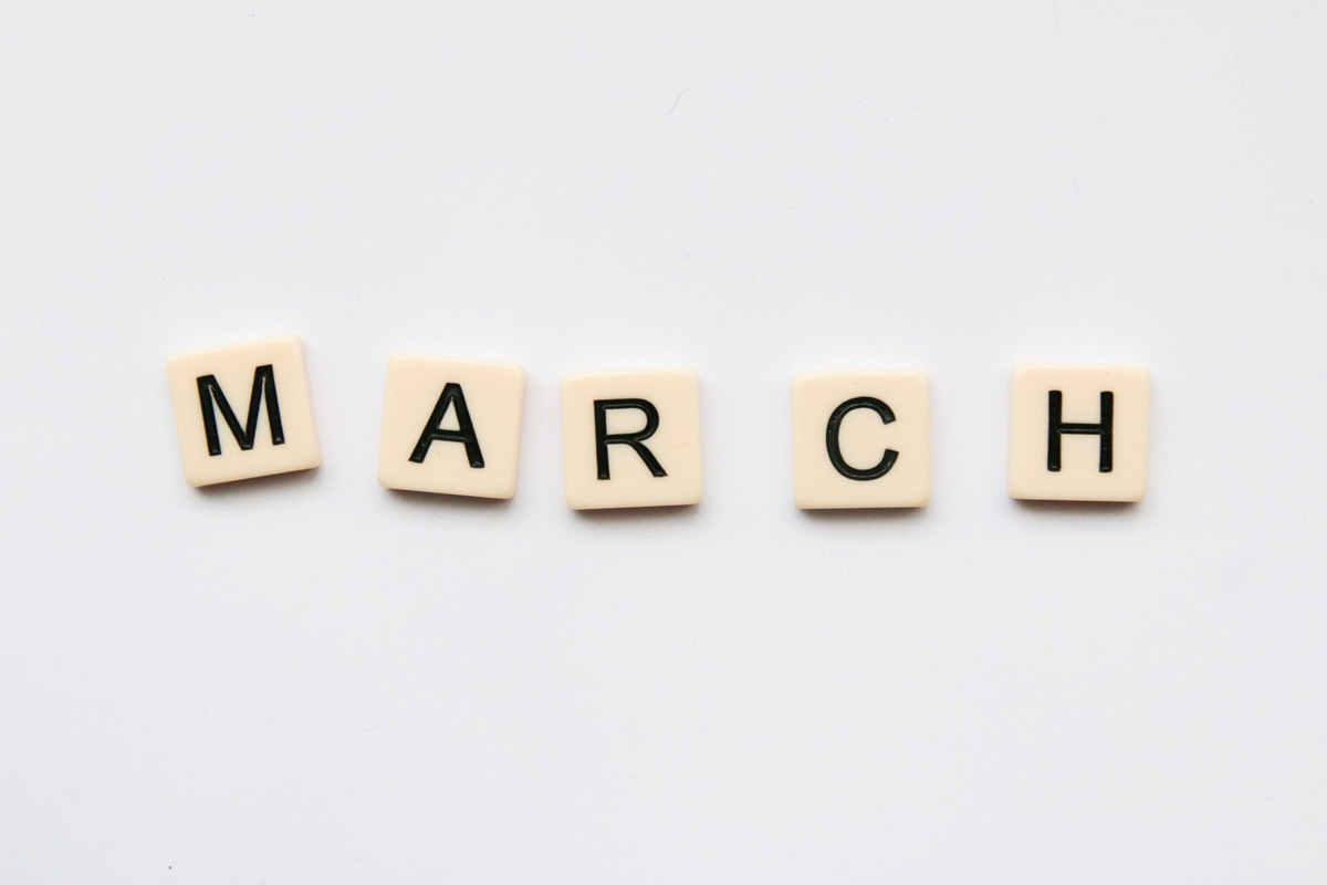 Month of March - raise awareness