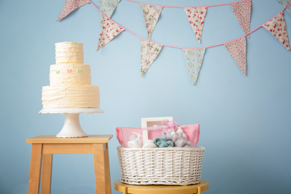 Baby Shower Cake & Gift - How to Host a Meaningful Baby Shower after Loss