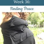 Libby's 36-week bump - Finding Peace