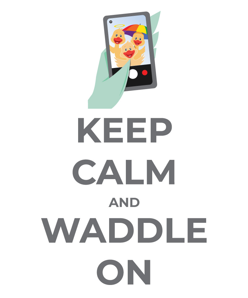 2021 Waddle Walk - Keep Calm and Waddle On