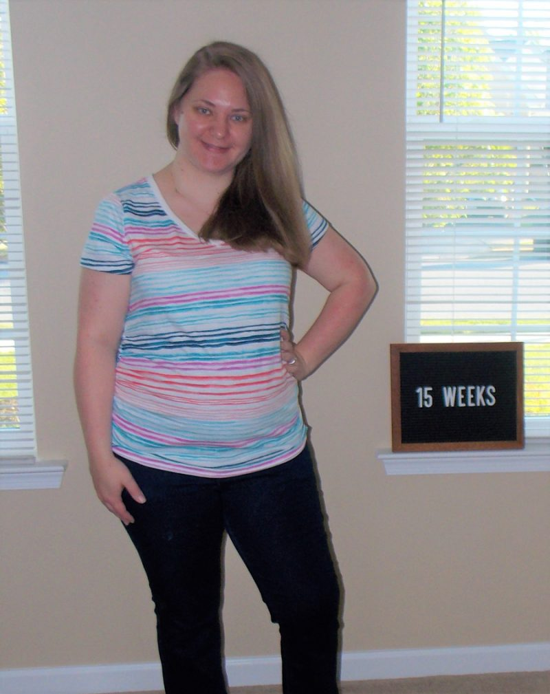 Emma's 15-week bump: Planning Life's Big Moments