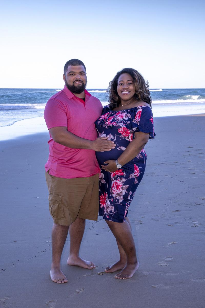 Jasmine's 26-week bump maternity photos