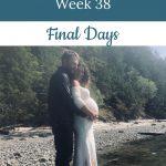 Libby's 38-week bump - Final Days
