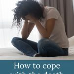 sad woman on bed - How to Cope with the Death of Your Baby