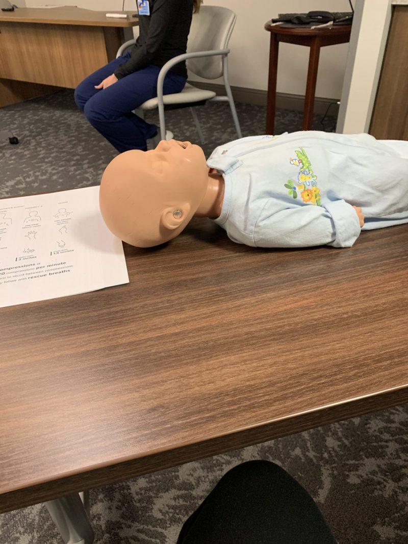 infant CPR course