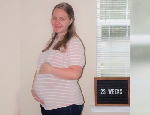 Emma's Bump Day Blog, Week 23: Positive Thinking