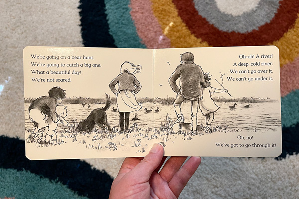 Going on a Bear Hunt book: Managing Fear in Pregnancy After Loss