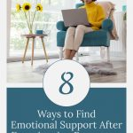 woman looking for support online - 8 Ways to Find Emotional Support after Pregnancy or Infant Loss