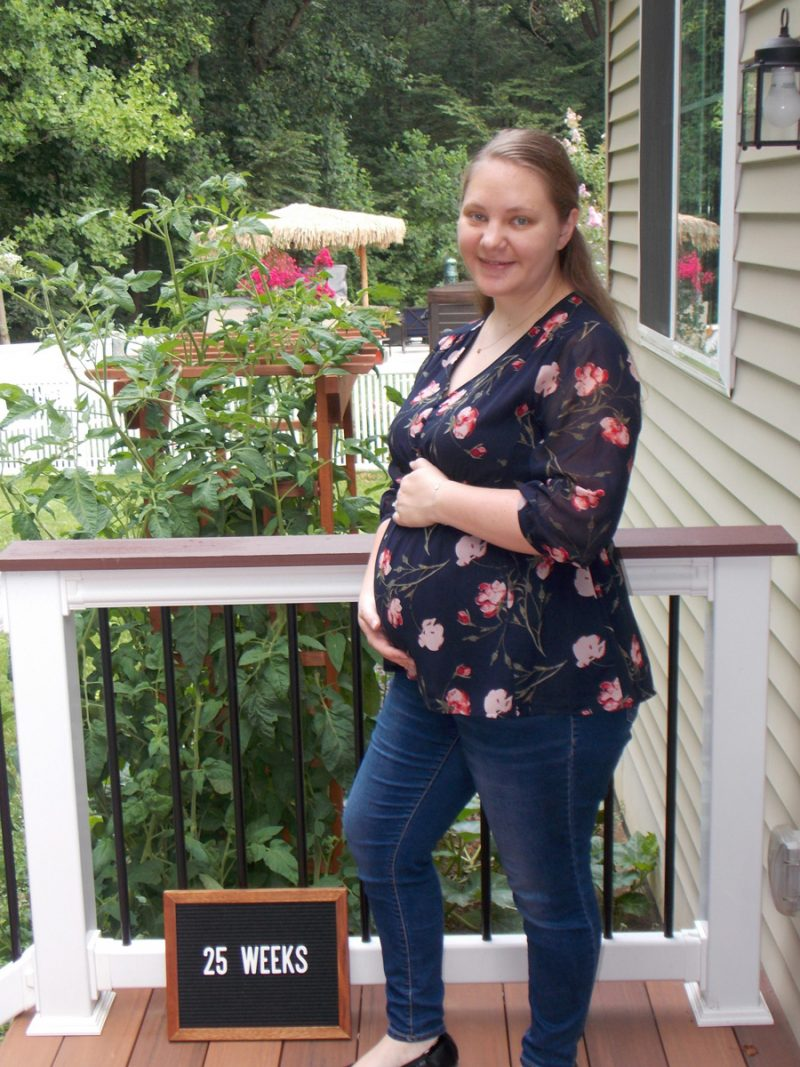 Emma's 25-week bump: Transitions and Transformations