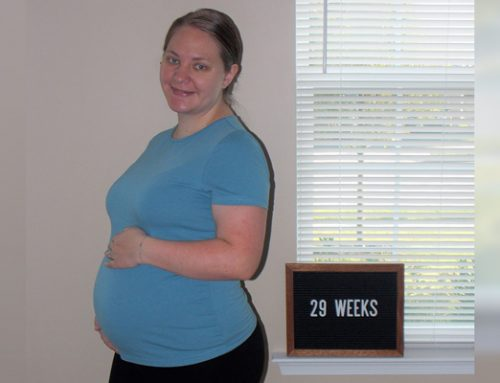 Emma's Bump Day Blog, Week 29: Settling In and Finding Peace