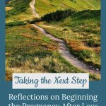 path up a mountain - Taking the Next Steps towards pregnancy after loss