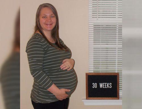 Emma's Bump Day Blog, Week 30: Reality Check