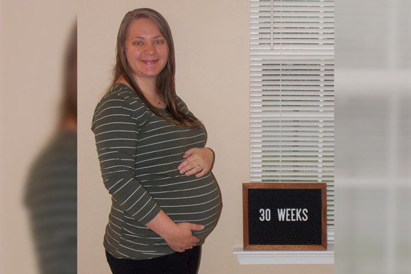 Emma's 30-week bump: Reality Check