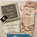 Elizabeth's 18-week bump day blog: It's a girl!