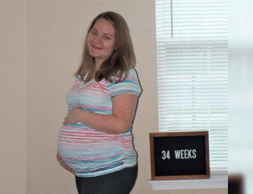 Emma's Bump Day Blog, Week 34: Gaining Hope