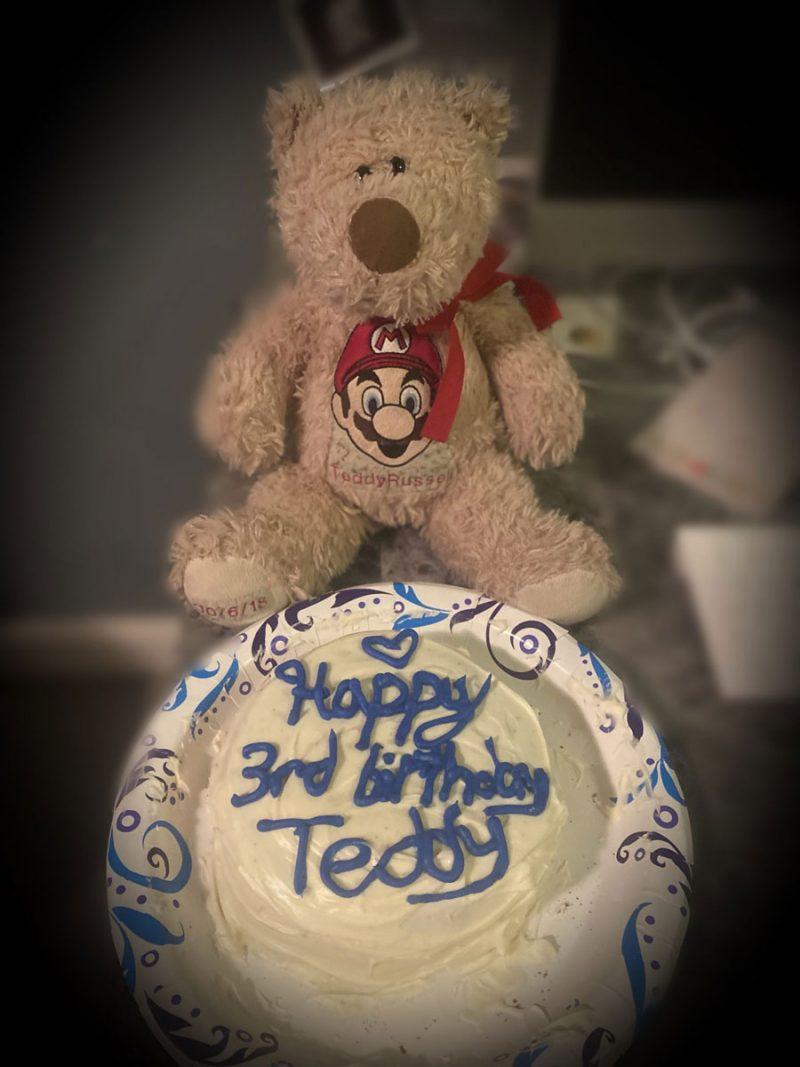 Teddy's 3rd Heavenly birthday